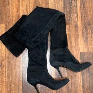Zara Thigh High black boots